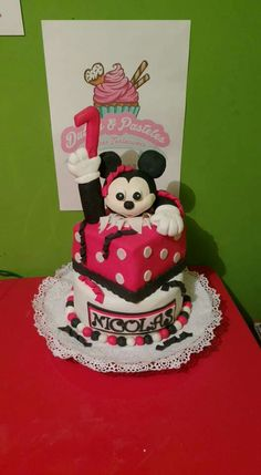 Mickey mouse torta