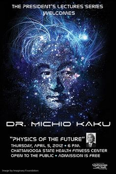 World renowned Theoretical Physicist Dr. Michio Kaku to speak @Chattanooga State tonight. 04/05/12 - http://www.chattanoogastate.edu/kaku/