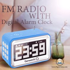 The FM Radio With Digital Alarm Clock which is made up of immense quality part that is wonderful which your customers can hardly forget and dynamically use it as .