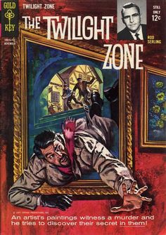 Cover for The Twilight Zone (Western, 1962 series) #9
