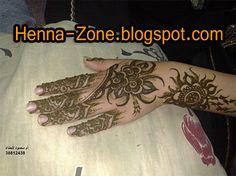 Henna-Zone: أجمل نقوش الحناء البسيطة