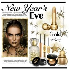 New Year's Eve.... Gold Makeup