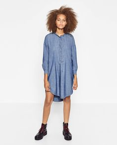 OVERSIZED DRESS-DRESSES-WOMAN | ZARA United States