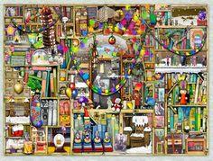 Puzzle de 1000 piezas de Ravensburger - Imagen de Colin thompson - composición de Navidad