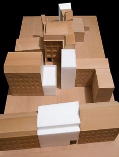 David Chipperfield Architects, founded in has four offices in London, Berlin, Milan and Shanghai. Architecture Model Making, Wood Architecture, Architecture Details, David Chipperfield Architects, Arch Model, Adaptive Reuse, Urban Planning, Design Model, Architecture
