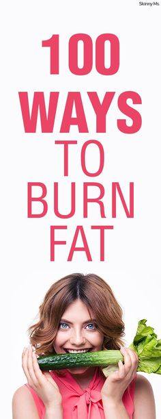 Little changes will make a noticeable difference over time when you're losing weight and taking charge of your health. We're sharing 100 ways to burn fat fast to help you make those little changes that turn into big changes. #burnfat #loseweight #weightloss