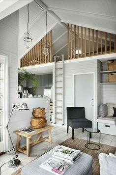 Pequeno estilo loft