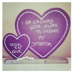 I am equipped with the power to change my situation