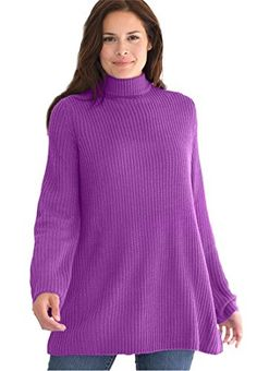 Women's Plus Size Sweater, Pullover Swing Style, In Shaker Stitch With Mock Woman Within http://www.amazon.com/dp/B014O8CSFI/ref=cm_sw_r_pi_dp_AP6lwb1ZAJ7XW