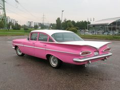 1959 Bel Air (would've been a great car for a lady during that era)