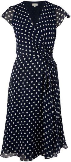 Love this: Polka Dot Dress @Lyst
