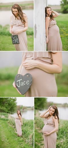 Lovely Feminine Maternity Photos