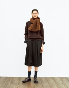 Queer Fashion, Womens Fashion, Margaret Howell, Tomboy, Style Me, Normcore, Knitting, Winter, Skirts