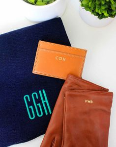MONOGRAMMED GIFTS FROM MARK & GRAHAM - Design Darling