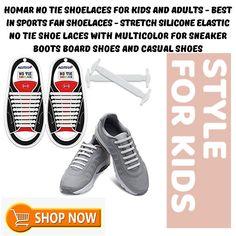 8 Best No Tie Shoelaces images Slipsskor, slipsskor  Tie shoelaces, Tie shoes