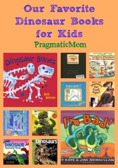 Our favorite dinosaur books for boys :: PragmaticMom Dinosaur Books For Kids, Dinosaur Theme Preschool, Dinosaur Activities, Dinosaur Crafts, The Good Dinosaur, Preschool Books, Books For Boys, Book Activities, Childrens Books