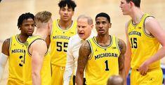 Michigan Wolverines Basketball, Michigan Athletics, University Of Michigan, Basketball Teams, College Basketball, Go Blue, Athlete, Education, Sports