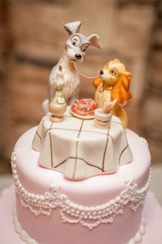 Wedding Cakes - kindly pick up this mind-blowing inspiration, pin number 2118383658 here. Disney Wedding Cake Toppers, Fancy Wedding Cakes, Types Of Wedding Cakes, Creative Wedding Cakes, Fondant Wedding Cakes, Fondant Cupcakes, Gold Wedding, Disney Desserts, Disney Cakes