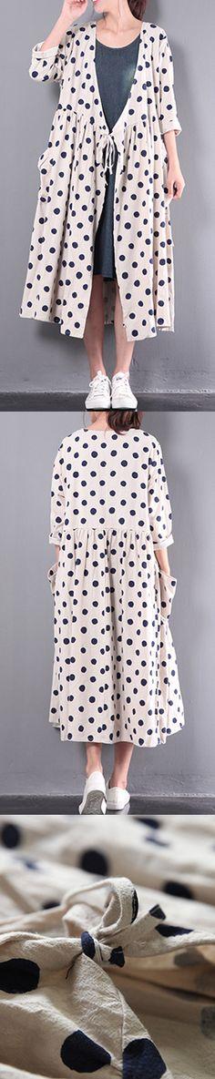 white stylish linen dresses plus size outwear long sleeve cardigans maxi dress