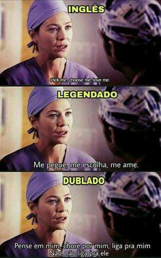 Greys Anatomy Memes, Grey Anatomy Quotes, Grey's Anatomy Hospital, Meredith And Derek, Beatles, Star Wars, Friends, Dance It Out, Humor