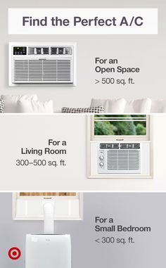 Cool off & keep the humidity out with an A/C unit or ceiling fan for a summer hack that fits your space & lifestyle. Your Space, Ceiling Fan, Decorative Pillows, Basement, Sweet Home, Wall Decor, Home Appliances, Living Room, Lifestyle
