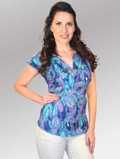 Blusa Pitta #moda #lino #SS2014 www.abito.com.mx
