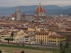 A view of the City November 2013, Florence Italy, Paris Skyline, City, Travel, Viajes, Destinations, Traveling, City Drawing