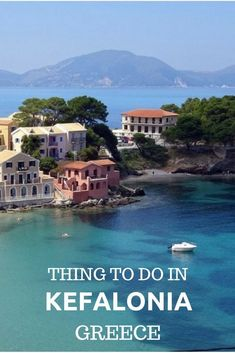 Greece Travel Inspiration - Things to do in Kefalonia island Greece, what to do, beautiful beaches, where to stay and how to go to Kefalonia Greece Cool Places To Visit, Places To Travel, Travel Destinations, Places To Go, Santorini, Greece Islands, Europe Travel Guide, Paros, Greece Travel