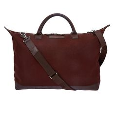 Cotton tote weekender by Brown Hartsfield - WANT Les Essentiels de la Vie collection on @liberty London £350