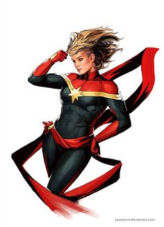 Capitain Marvel by Yamaocre on Deviantart