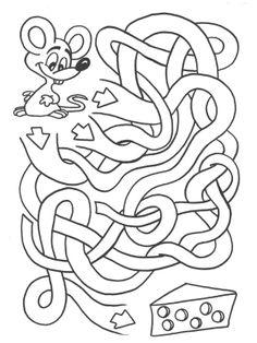 Activities for kids - mazes | Summer puzzle scrap book | Pinterest ...
