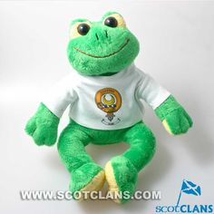 Soft Toy Frog with D
