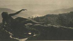 Detail of Anne Brigman,'Dawn,' 1912. Photogravure from Camera Work No. 38.