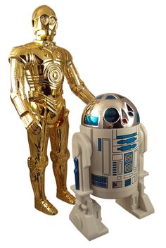 The droids I am looking for... two of my first star wars action figures