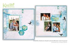 This project will show you how to create an elegant double page layout using Distress Oxide Inks, Dylusions Paints and Ezy-Press Dies. Page Layout, Layouts, Distress Oxide Ink, Scrapbooking Ideas, Workshop, Gallery Wall, Stamp, Sunflowers, Create