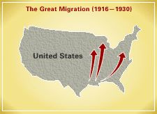 AAME :  Great migration.  Investigate this site to build student background knowledge.