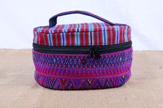 Handmade, fair trade, colorful and unique. This one of a kind Guatemalan cosmetic bag is available now in my Etsy shop https://www.etsy.com/listing/221514465/guatemalan-cloth-cosmeticjewelrysupply
