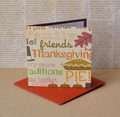 Thanksgiving Mini Cards, Small Note Cards, Blank Note Cards, Gift Tag Set, Mini Thank You Cards, Etsy Thank You Cards, Mini Envelopes by TiddleywinksDesigns on Etsy