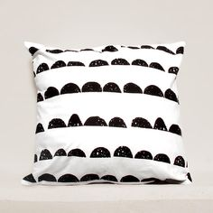 Half Moon pillow cover, Geometric Pillow Case, Kids Pillows Case, Black and White Pillow Case01 by gridastudio on Etsy https://www.etsy.com/il-en/listing/208954234/half-moon-pillow-cover-geometric-pillow