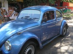 blue fusca