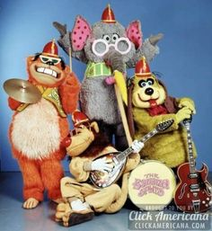 The Banana Splits theme song & lyrics (1968-1970)  Read more at http://clickamericana.com/eras/1960s/the-banana-splits-theme-song-lyrics-1968-1970 | Click Americana