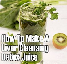This simple Liver Cleanse Juice can be made at home and be like the ultimate juice to revitalize your liver.