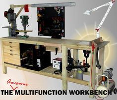 The Universal Multipurpose Workbench - AWESOME TUTORIAL