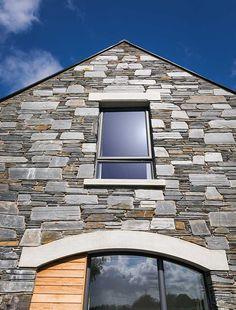New Build In County Armagh - violetta House Layout Plans, House Layouts, House Plans, Bungalow House Design, Modern Bungalow, House Designs Ireland, Modern Farmhouse Exterior, Armagh, Brickwork