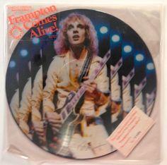 Peter Frampton - Frampton Comes Alive! SEALED Picture Disc LP Vinyl Record Album, A&M Records - PR 3703, 1978, Original Pressing