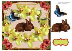 Easter Bunny by Marcia Lyn Collins Easter bunny for your special day.  approximate size 7.5 x 7.5