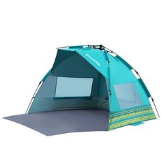 KingCamp Mississipi Sun Shelter Beach Tent Sun Shade With Extention Floor Privacy Door Portable Easy Set Up Instant Oversize UV Protection , for Camping, Beach, Outdoor, Fantacy Checkers Tent Camping, Camping Gear, Outdoor Camping, Outdoor Gear, Camping Store, Camping List, Hiking Gear, Camping Equipment, Beach Tent
