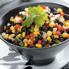 Thai-Style Black Bean Salad recipe. Its the Go-to potluck dish for me.