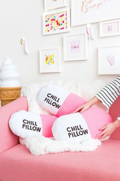 Learn how to make these DIY chill pillows with this step-by-step tutorial.
