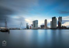 Rotterdam at sunset by Ilya Korzelius